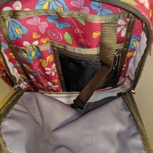 L.L. Bean Bags - L.L. Bean Floral Backpack